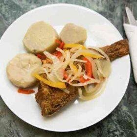Stew-Fish-Emmanuel Caribbean Takeaway